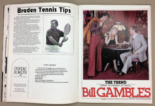 Vic Braden Tennis Tips