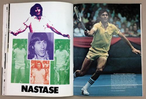 Ilie Nastase Poster