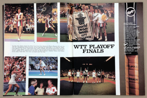 New York Apples WTT Champions 1977