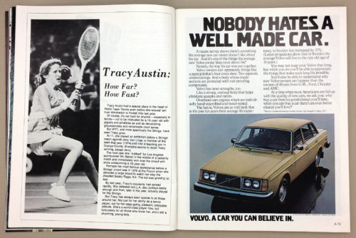 Tracy Austin: How Far? How Fast?