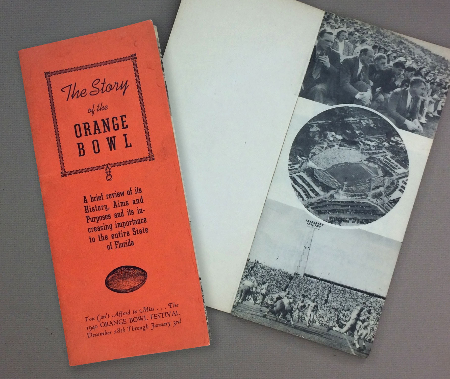 The Story of the Orange Bowl 1940