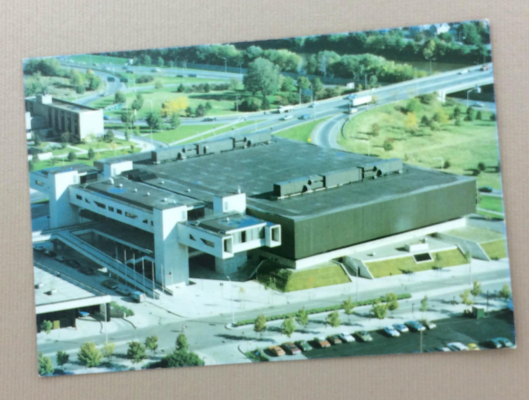 Binghamton Arena Postcard