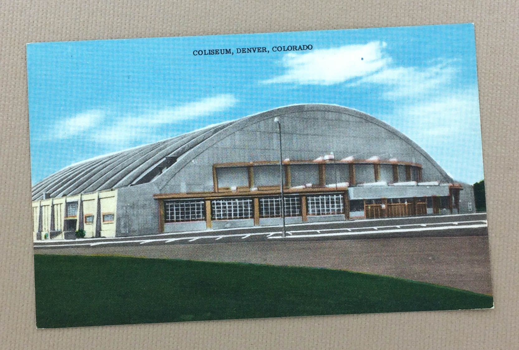 Denver Coliseum Postcard