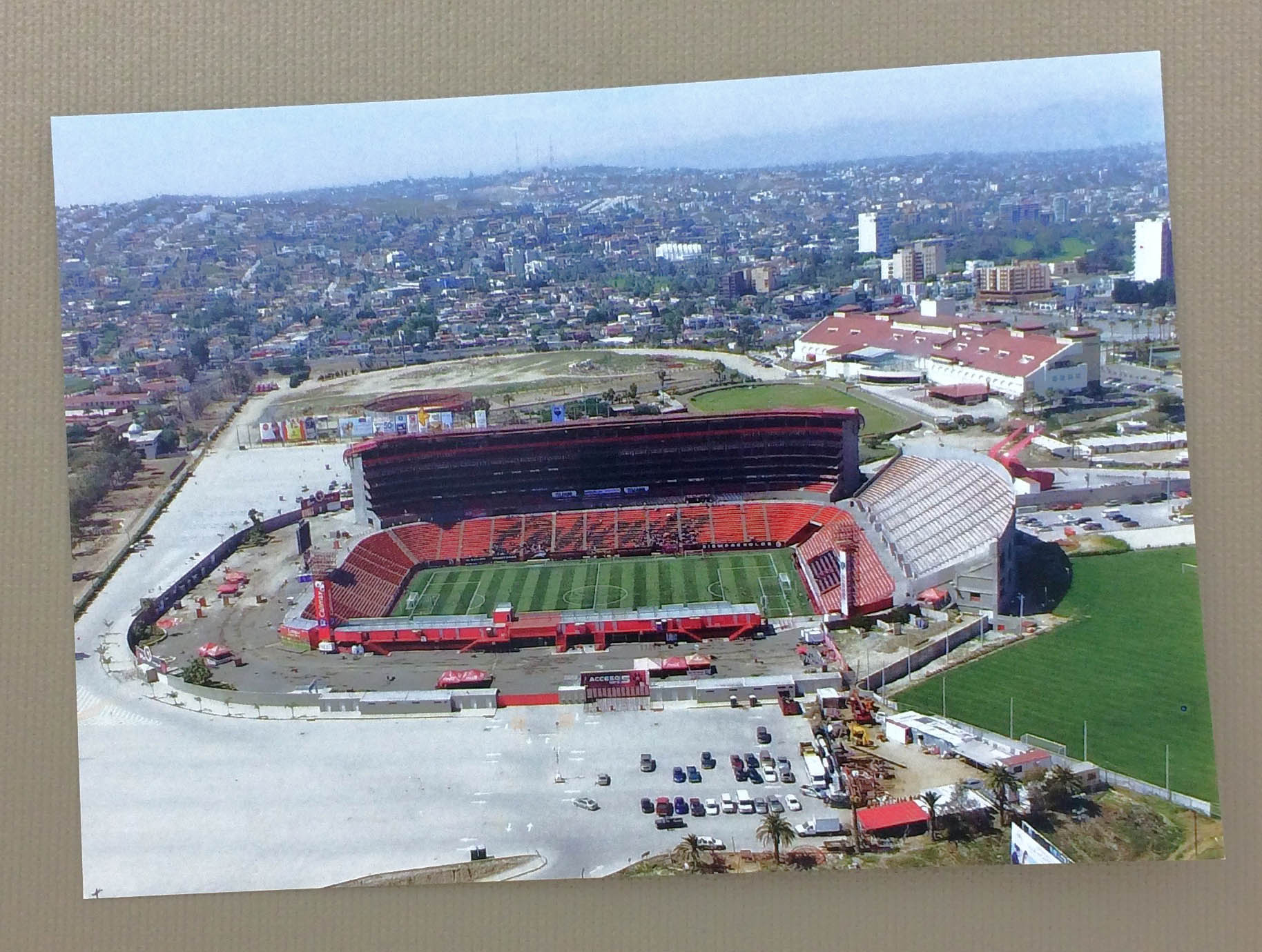 Tijuana Estadio Caliente Postcard