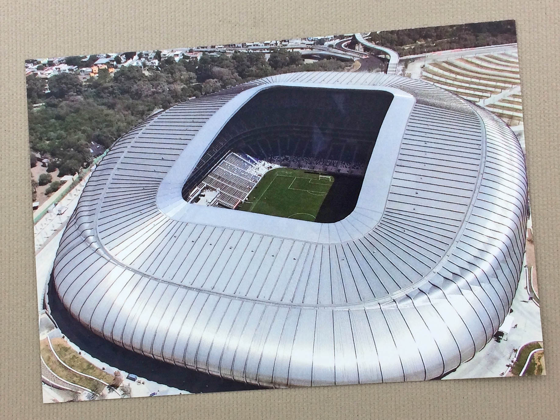Estadio BBVA Bancomer Postcard