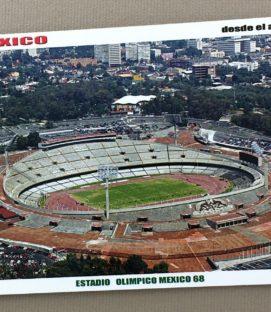 Estadio Olímpico Universitario Postcard
