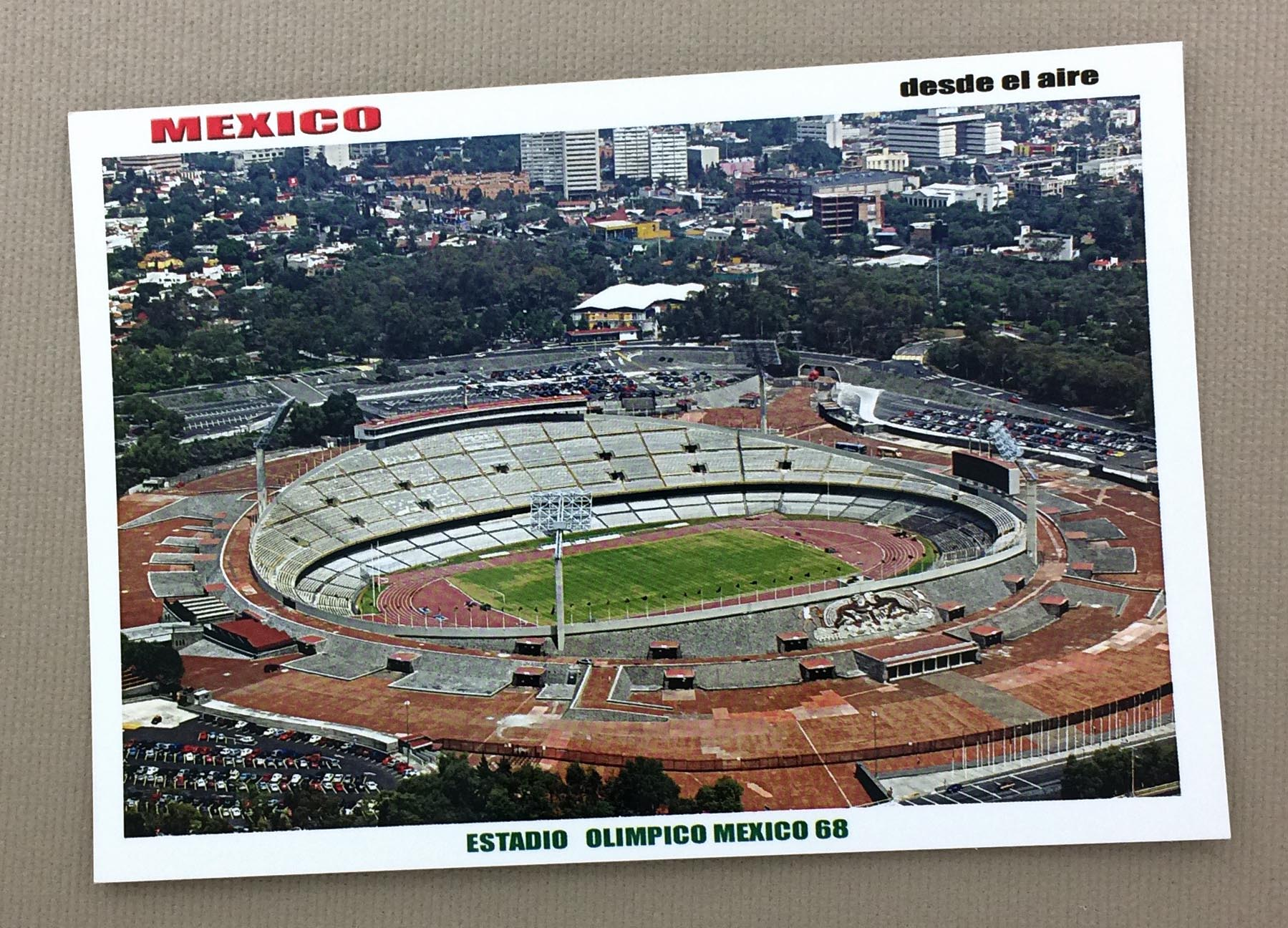 Estadio Olímpico Universitario Postcard