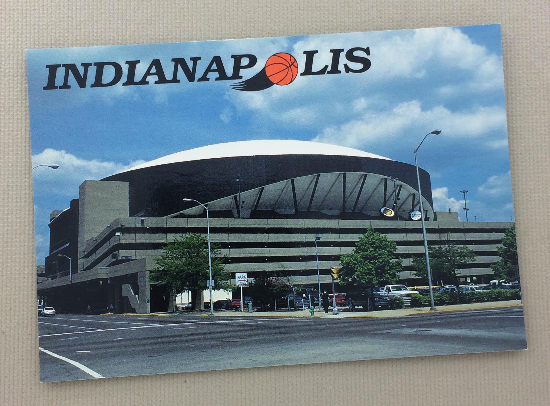 Market Square Arena Postcard