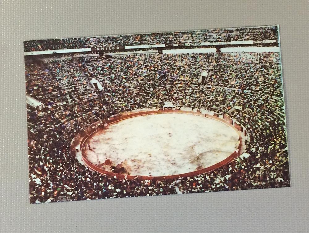 Litho Postcard Plaza de Toros Mexico City