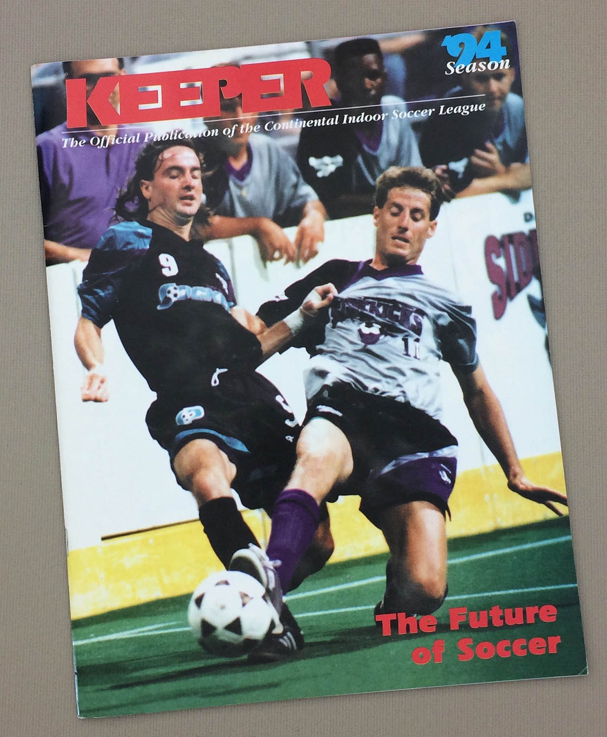 Keeper CISL 1994 Yearbook
