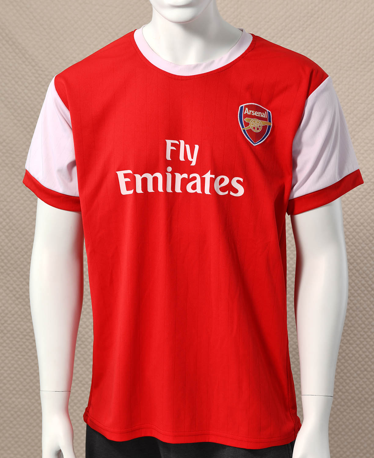 detailed look f13db ec3e1 Arsenal 2010-11 Jersey