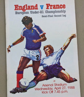 England France U21 Championship Semi-Final Program