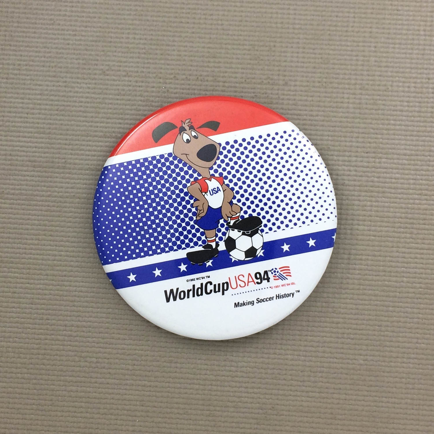World Cup '94 Mascot Button