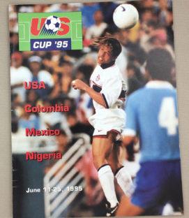 US Cup '95 Program