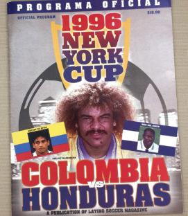 New York Cup 1996 Program
