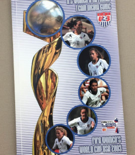 US Soccer Women's National Team 2003 Media Guide