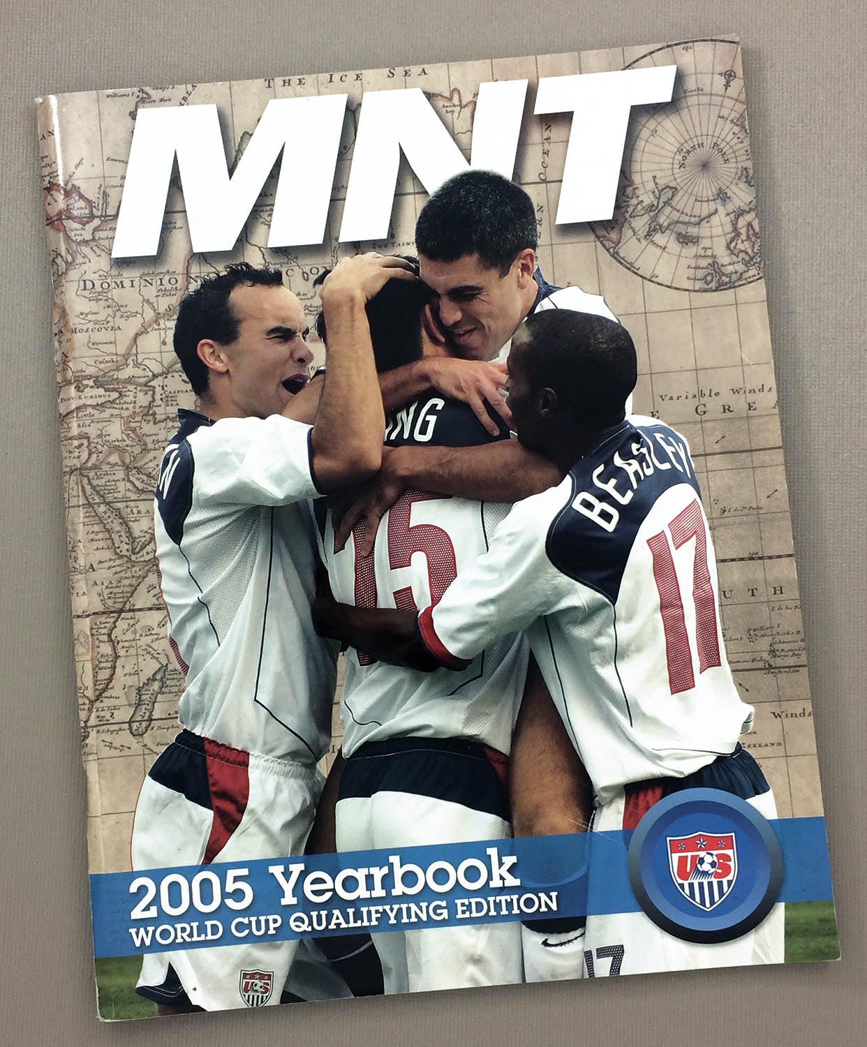 2005 U.S. Men's National Team Yearbook