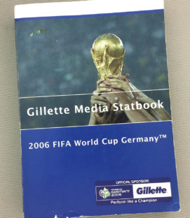 Gilette Media Statbook 2006 FIFA World Cup Germany