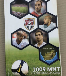 US Soccer 2009 MNT Media Guide