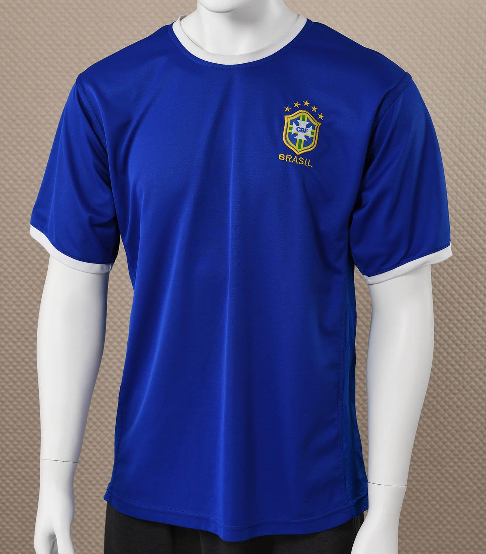 Brazil Blue Soccer Jersey