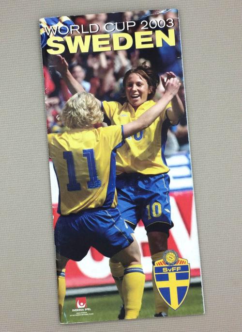 Women's World Cup 2003 Sweden Team Guide