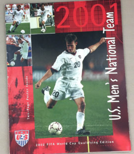 U.S. Men's Soccer Yearbook 2001