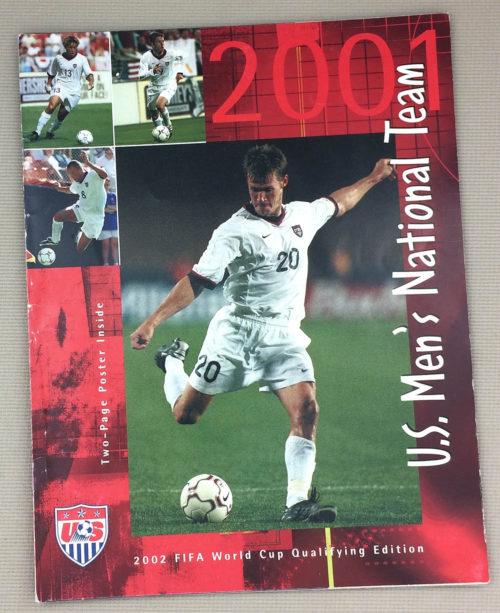 U.S. Men's Soccer Yearbook 2001