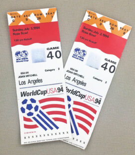 World Cup '94 Romania Argentina Tickets