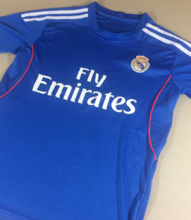 Real Madrid Blue Youth Jersey