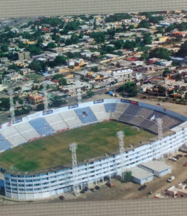 Estadio Tamaulipas Postcard
