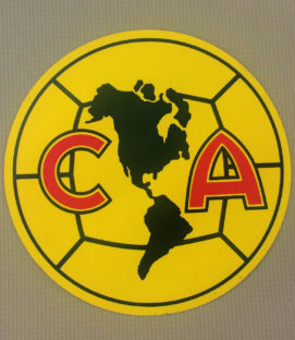 Club America Circular Decal