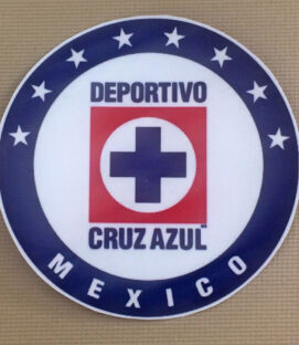 "Cruz Azul 5"" Decal"