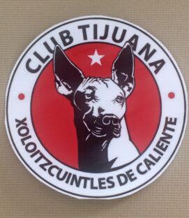"Club Tijuana 5"" Decal"