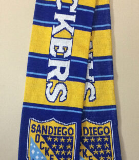 San Diego Sockers Striped Scarf