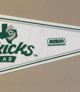 Dallas Sidekicks MISL Pennant