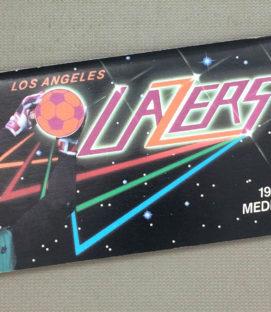 Los Angeles Lazers 1985-86