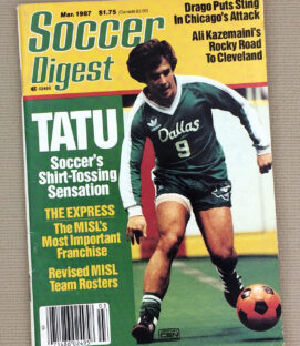 Soccer Digest March 1987 Issue