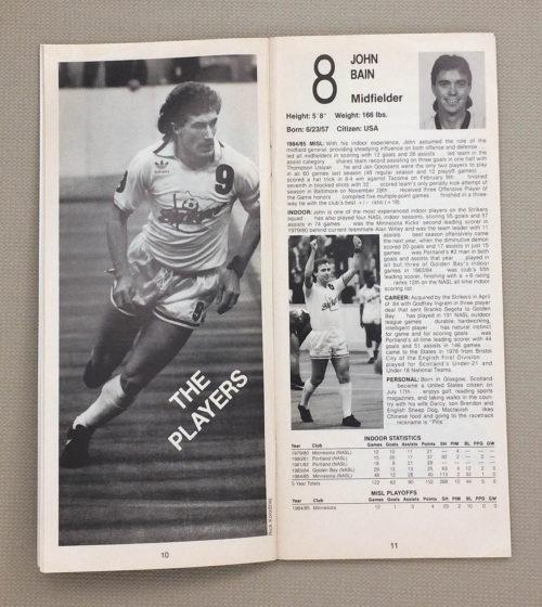 Minnesota Strikers, Alan Willey, John Bain