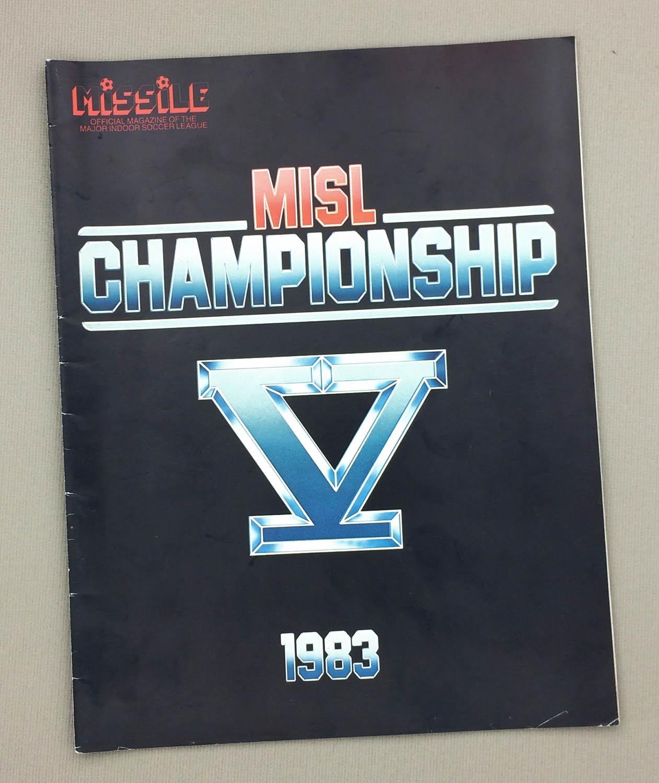 1983 MISL Championship Program