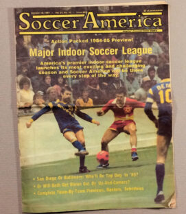 Soccer America 1984 MISL Preview Edition