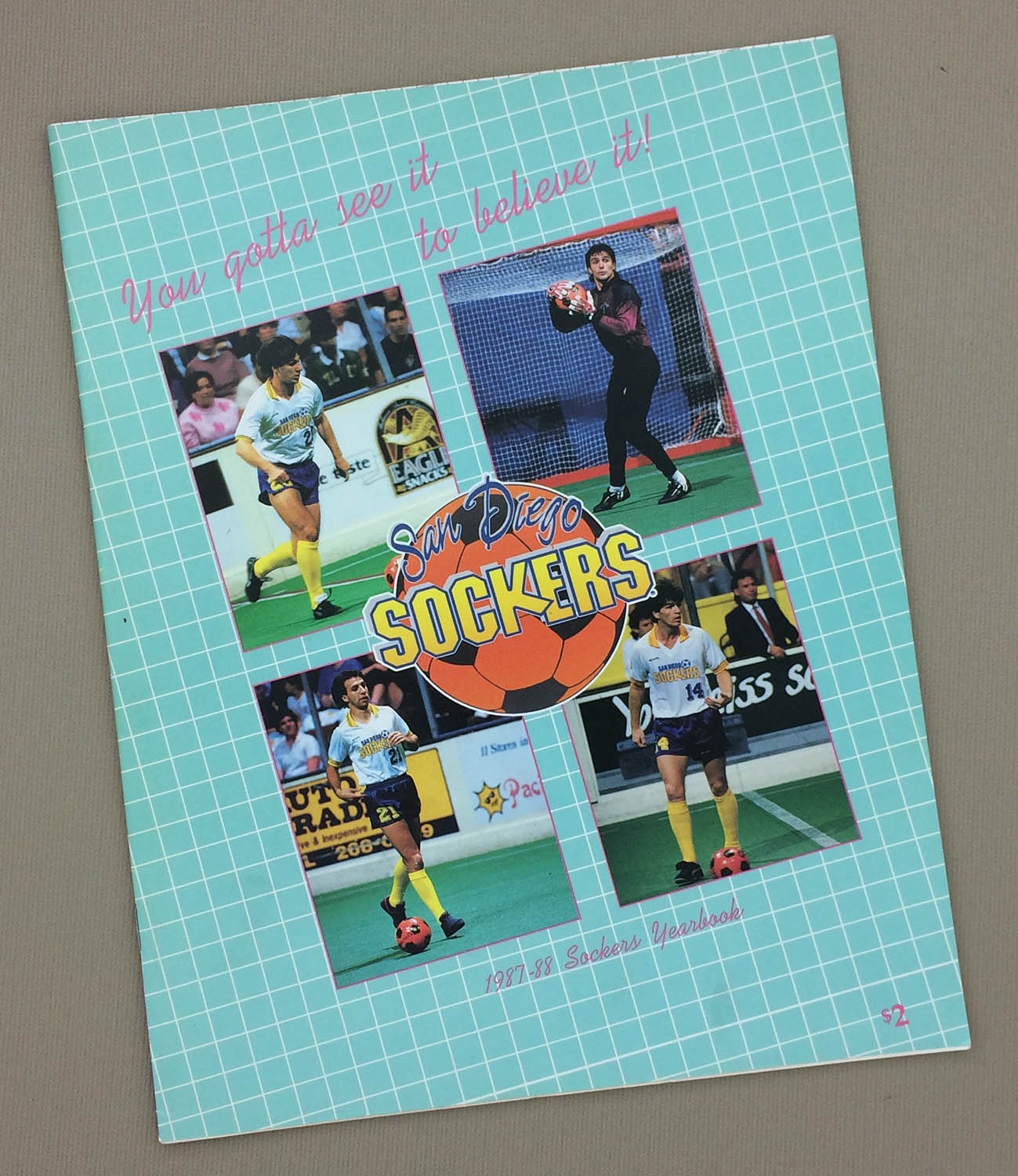 San Diego Sockers 1987-88 Yearbook