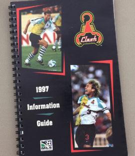 San Jose Clash 1997 Media Guide