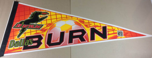 Dallas Burn (MLS) Pennant