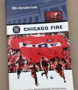 Chicago Fire 2004 Media Guide