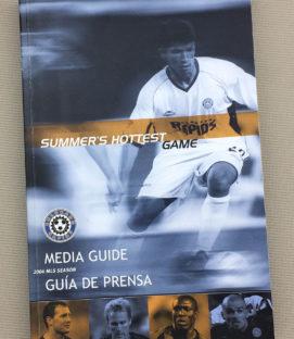 Colorado Rapids 2004 Media Guide