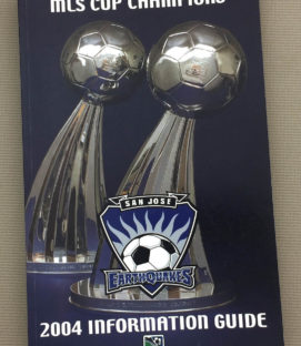 San Jose Earthquakes 2004 Media Guide