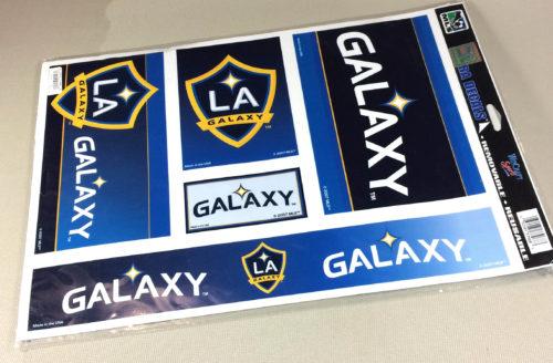 Los Angeles Galaxy 2007 Decal Set