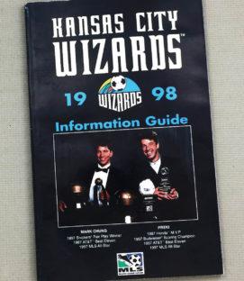 Kansas City Wizards 1998 MLS Media Guide