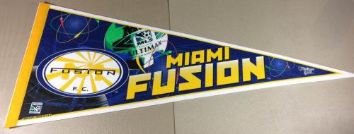 Miami Fusion (MLS) Pennant