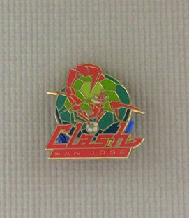 San Jose Clash Collectors Pin